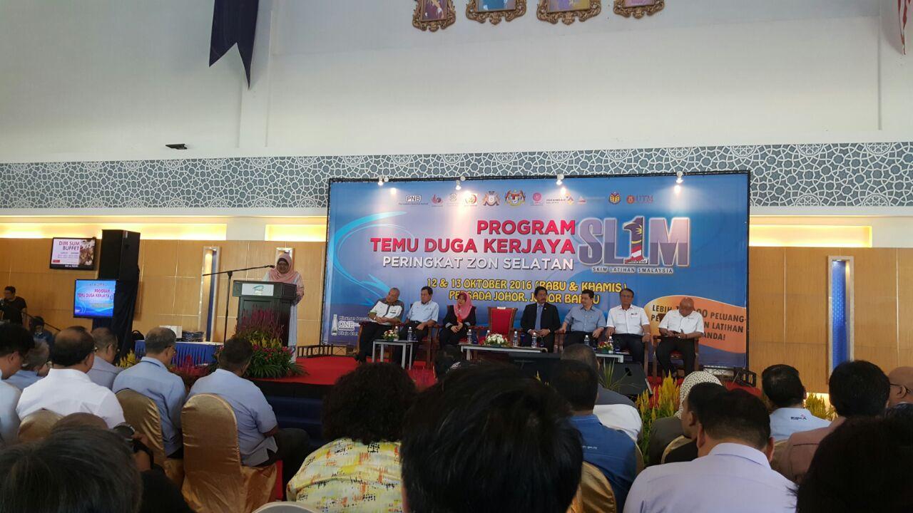 """""""Program Temu Duga Kerjaya Skim Latihan 1Malaysia (SL1M)"""", South Zone"""