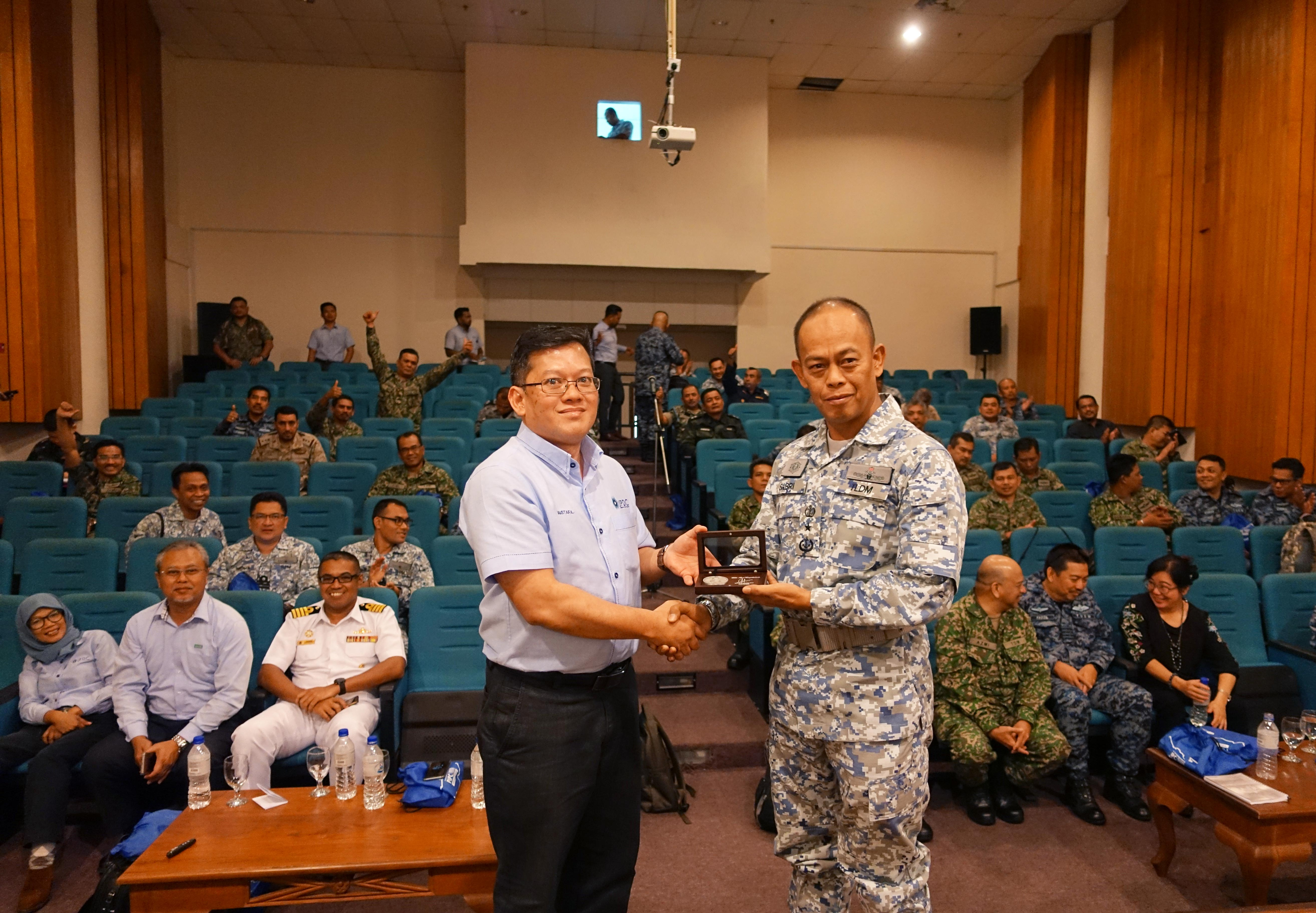 Study Visit by Malaysian Armed Forces Defense College to PIPC