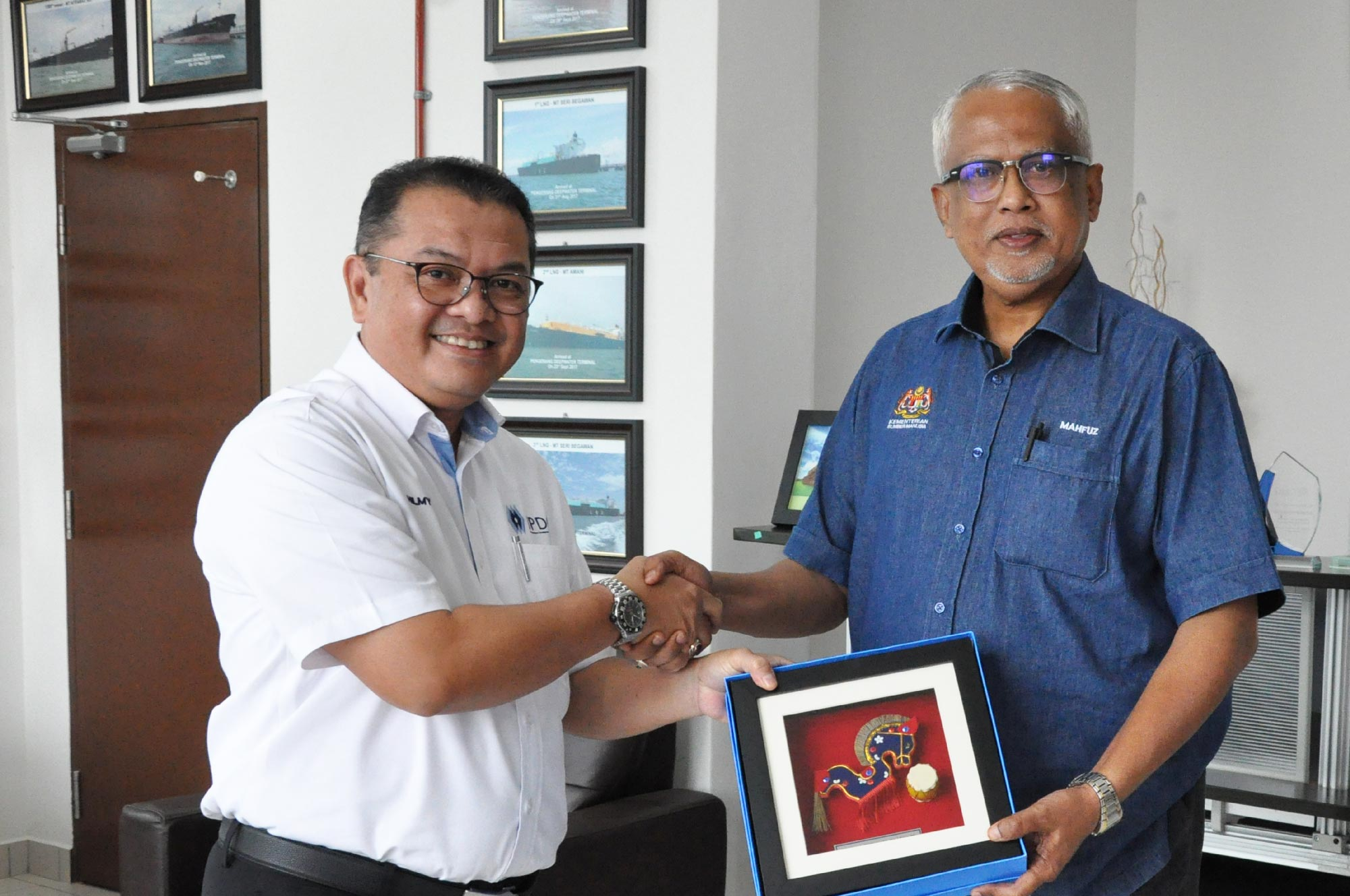 Visit by Ministry of Human Resource to Pengerang Integrated Petroleum Complex (PIPC)