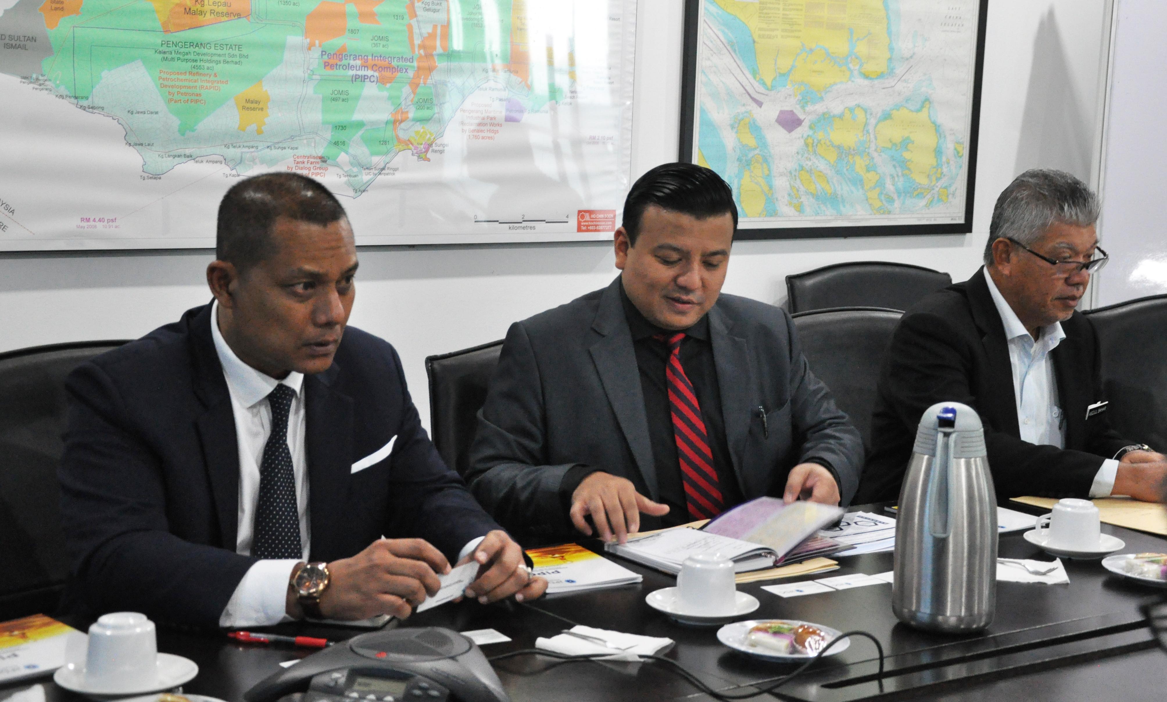 Lawatan Perbadanan Kemajuan Negeri Melaka (PKNM) Bersama Wakil Kerajaan Negeri Melaka ke JPDC