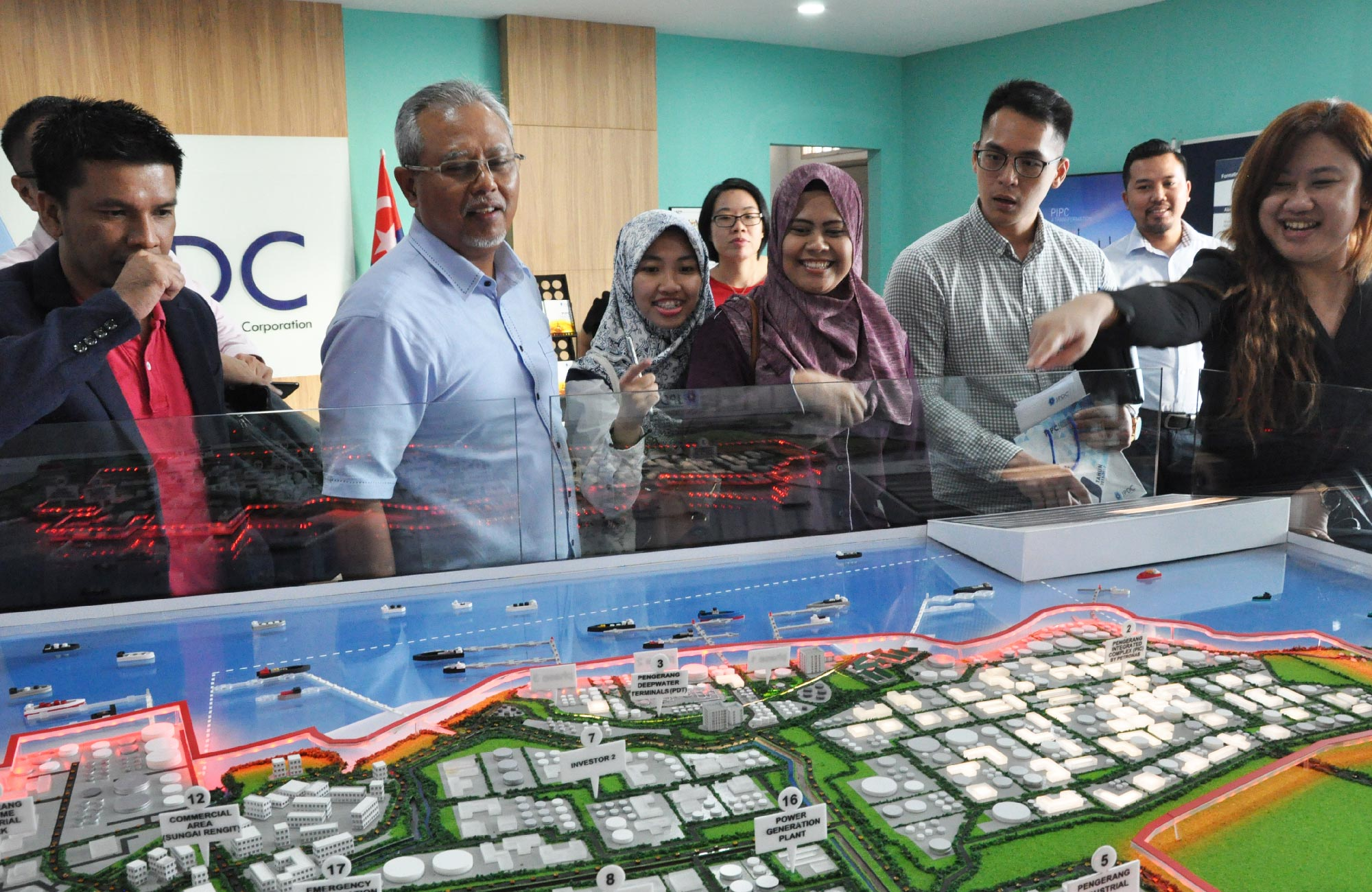 Visit by Royal Institution of Surveyors Malaysia (RISM) to PISP