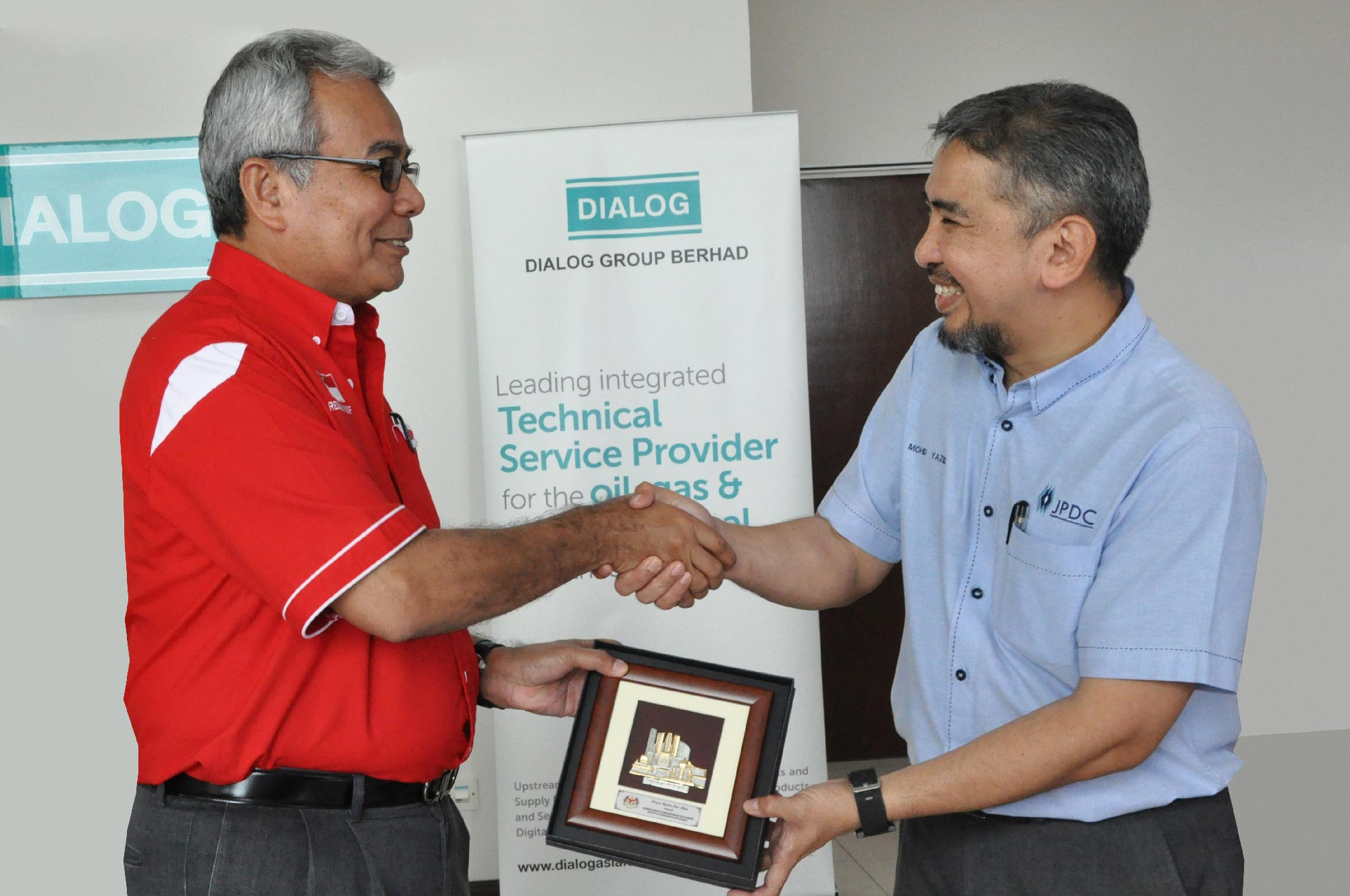 Official visit by YB Datuk Seri Mohd. Redzuan Yusof, Minister of Entrepreneur Development